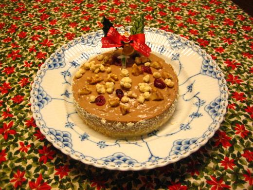 2013クリスマスケーキはチョコレートムース_d0031682_07341926.jpg