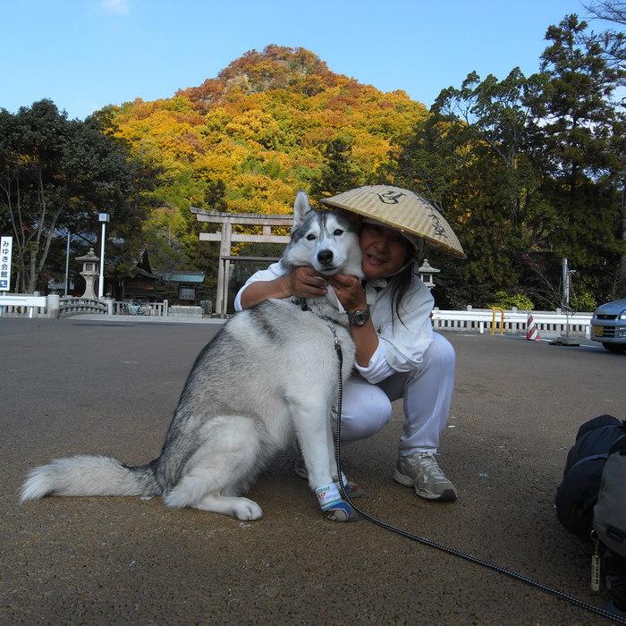 Memory of the second pilgrimage with Husky HANA II_c0049299_13155393.jpg