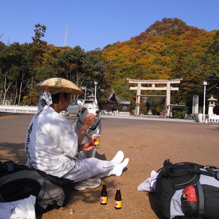 Memory of the second pilgrimage with Husky HANA II_c0049299_13162855.jpg