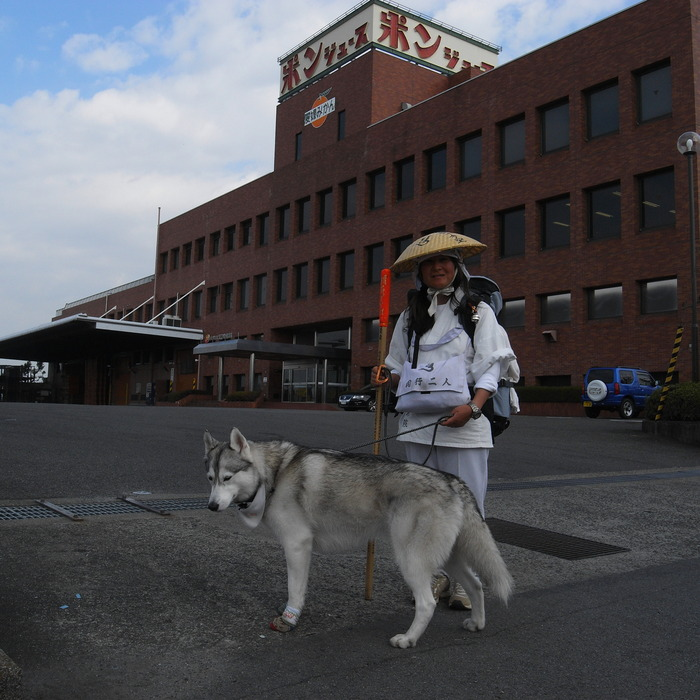 Memory of the second pilgrimage with Husky HANA II_c0049299_13201088.jpg