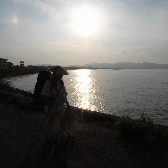 Memory of the second pilgrimage with Husky HANA II_c0049299_15403347.jpg