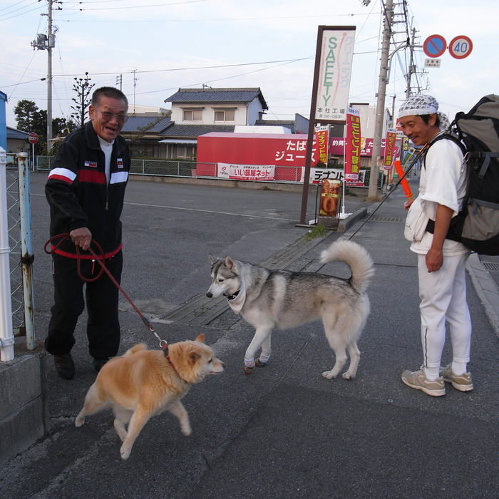 Memory of the second pilgrimage with Husky HANA II_c0049299_15442879.jpg