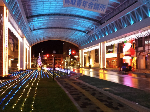 鳥取の駅前イルミネーション_f0192307_2185742.jpg