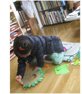 リース作り・幼児クラス_f0211514_21475227.jpg