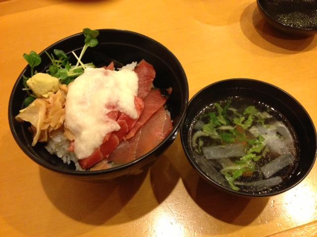 鉄火丼_a0315918_20134378.jpg