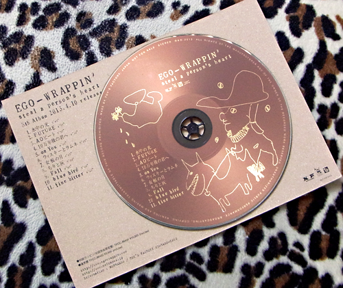 「EGO-WRAPPIN\'」の「steal a person\'s heart」。_e0053731_17515757.jpg