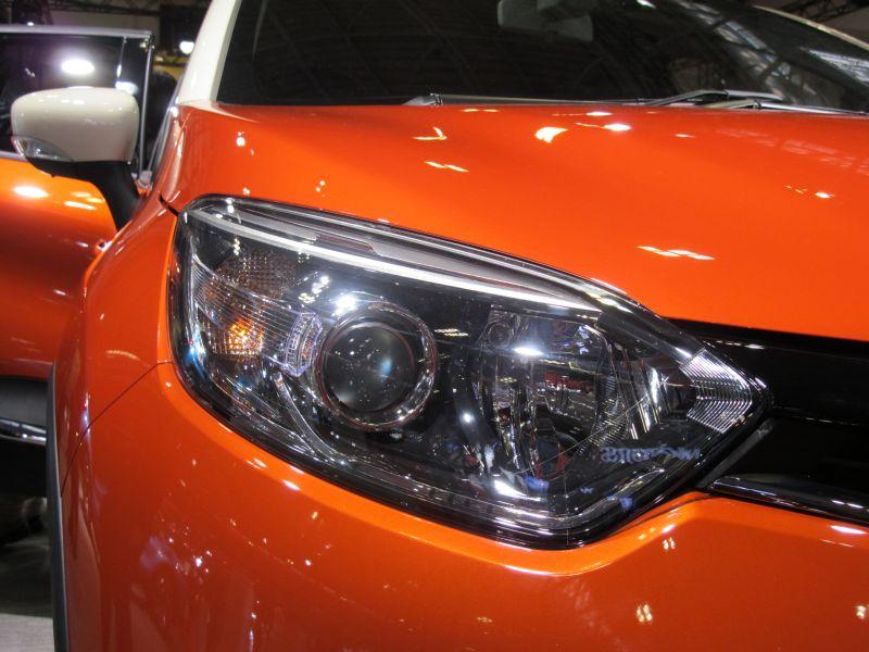 名古屋モーターショーでエクシーガ版XVを眺める_f0076731_2157152.jpg