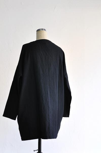 jujudhau/ズーズーダウ V-NECK CARDIGAN(W/C BLACK)
