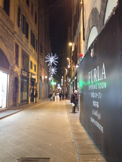12/12/2013 フィレンツェのクリスマスイルミネーション_a0136671_03534034.jpg