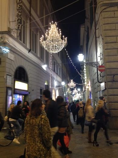 12/12/2013 フィレンツェのクリスマスイルミネーション_a0136671_05313060.jpg