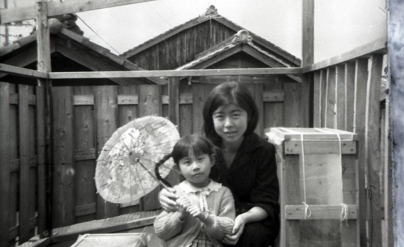 1960年の写真、2013年の写真 : Y...