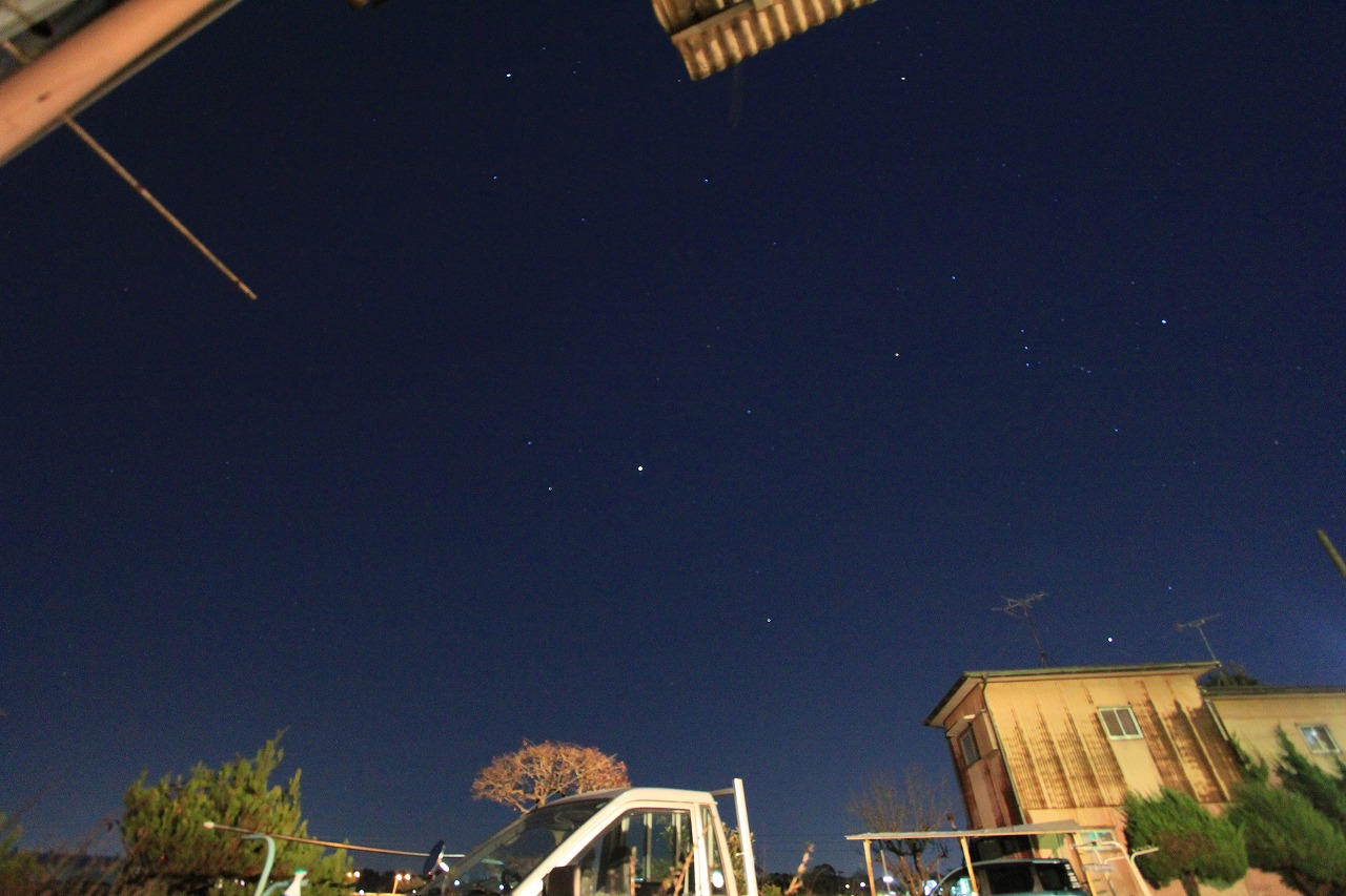 長期不動と流れ星。そこにロマンチックな・・・_f0225627_21344593.jpg