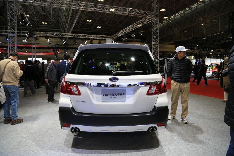 名古屋モーターショーでエクシーガ版XVを眺める_f0076731_16185463.jpg
