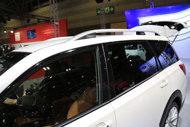 名古屋モーターショーでエクシーガ版XVを眺める_f0076731_16264348.jpg