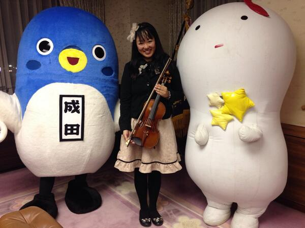 成田市長と懇談させて頂きました♪ と、うなりくん☆_f0109257_5594381.jpg