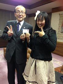 成田市長と懇談させて頂きました♪ と、うなりくん☆_f0109257_6204531.jpg