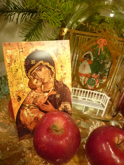 ミニマリアから アドベントを楽しむ贈り物 ホルムガードHolmegaad のクリスマス・ボトル 。*:・゚`☆*†_a0053662_15395436.jpg