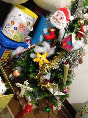 30年以上前のクリスマスツリー YUKARI_c0130623_21131048.jpg