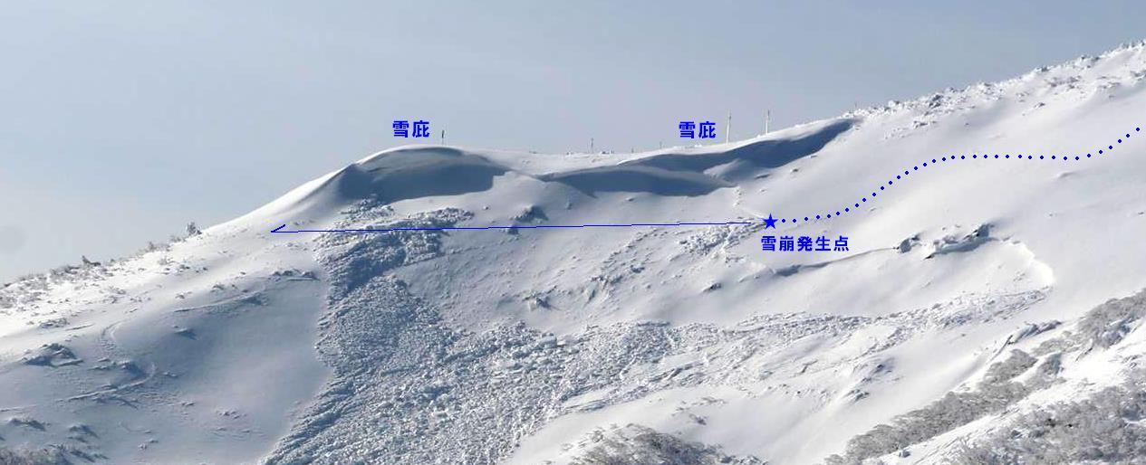 刈田岳井戸沢の雪崩について_f0170180_1237054.jpg
