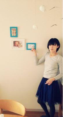 写真を壁に。_a0188798_1901321.jpg
