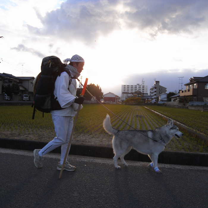 Memory of the second pilgrimage with husky HANA II_c0049299_20422423.jpg