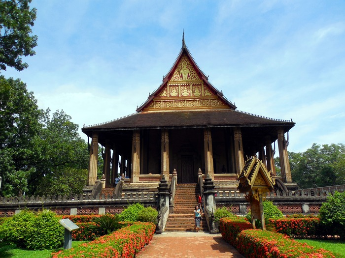 ヴィエンチャン最古の寺院、ワット・シーサケット_d0116009_1011230.jpg