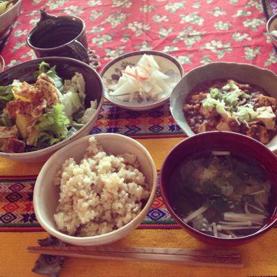 マクロの麻婆豆腐ランチ_f0095325_755893.jpg