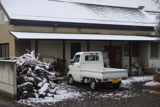 初雪です。_e0226943_1131685.jpg