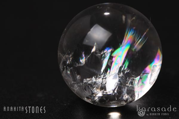 ヒマラヤ水晶(虹入り)丸玉(インド産)_d0303974_19431159.jpg
