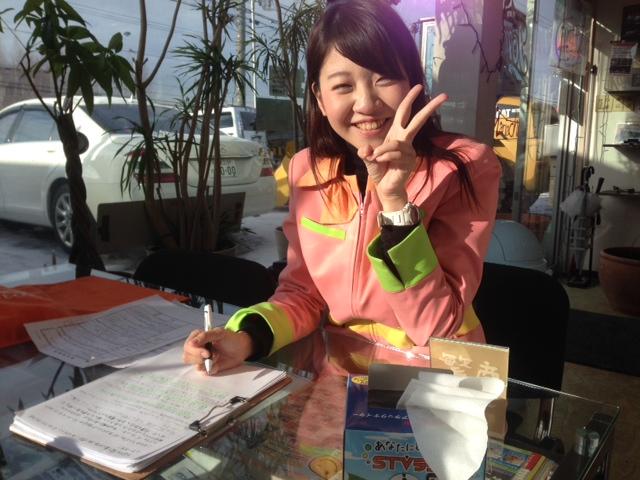 STVラジオ、ランラン号中継!庄内沙季ちゃん_b0127002_1345995.jpg