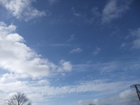 冬の青空!_d0072917_19595557.jpg