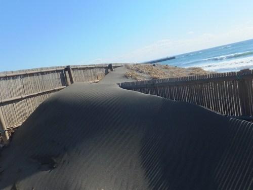 砂紋を眺めながら...湘南海岸を散歩!_b0137932_21492696.jpg
