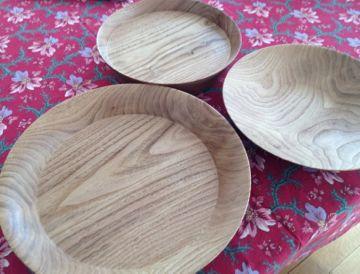 cuillere 木の器シリーズ 栗の大皿_e0134337_719152.jpg