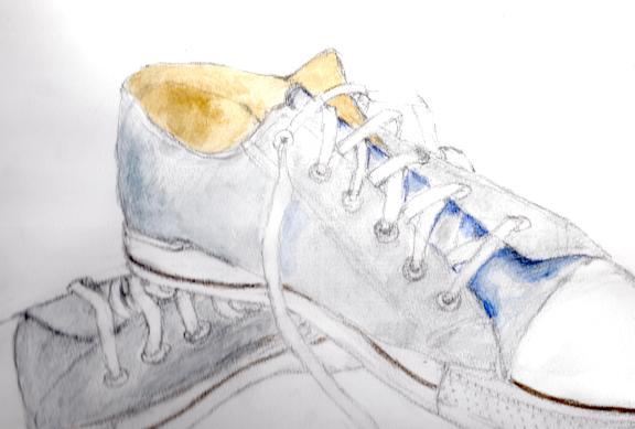 スニーカーを描く_f0095745_1445910.jpg
