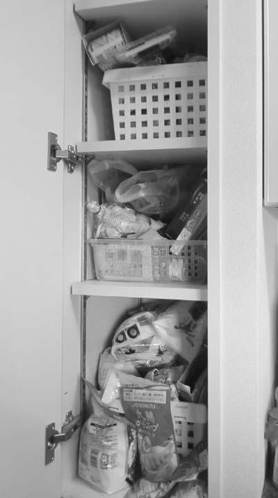 お友達のキッチン整理収納作業 1 食品庫_c0293787_1419561.jpg