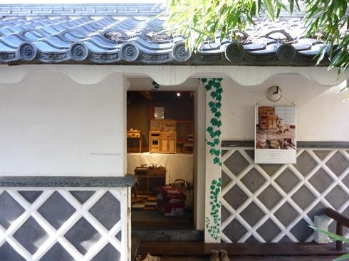 中棚荘での展示が始まりました。_f0227395_1035364.jpg
