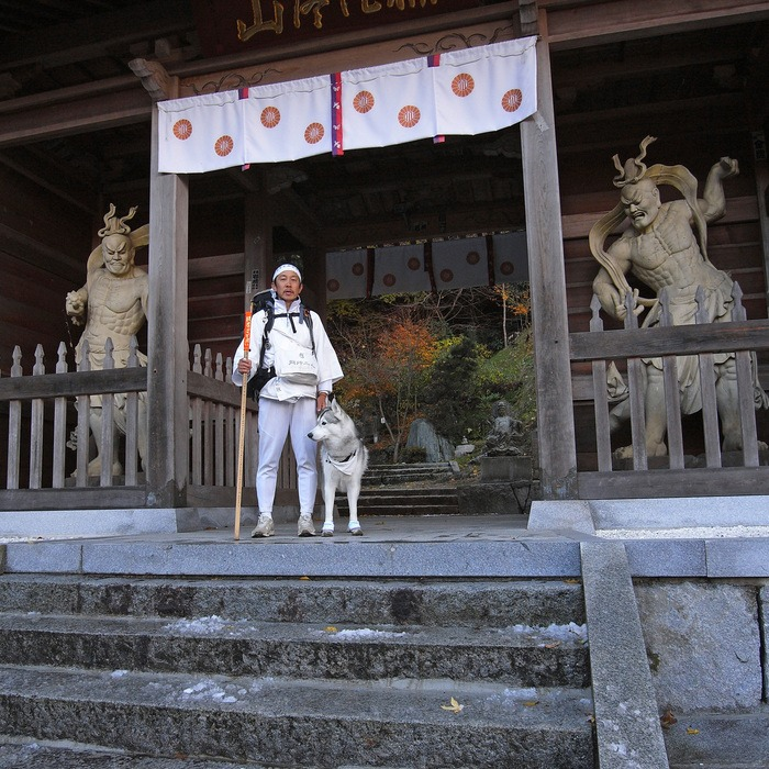 Memory of the second pilgrimage with husky HANA II_c0049299_19172569.jpg