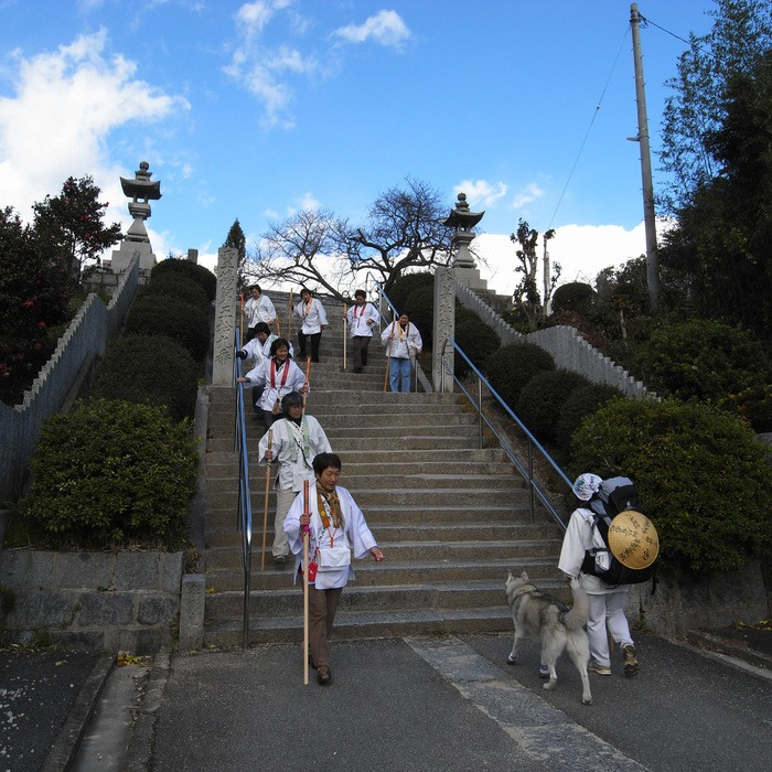 Memory of the second pilgrimage with husky HANA II_c0049299_19282059.jpg