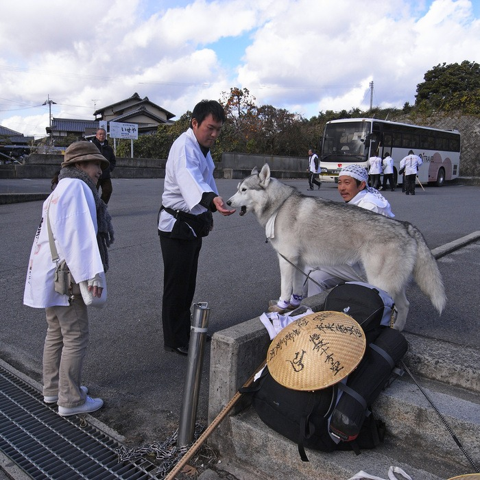Memory of the second pilgrimage with husky HANA II_c0049299_19292610.jpg