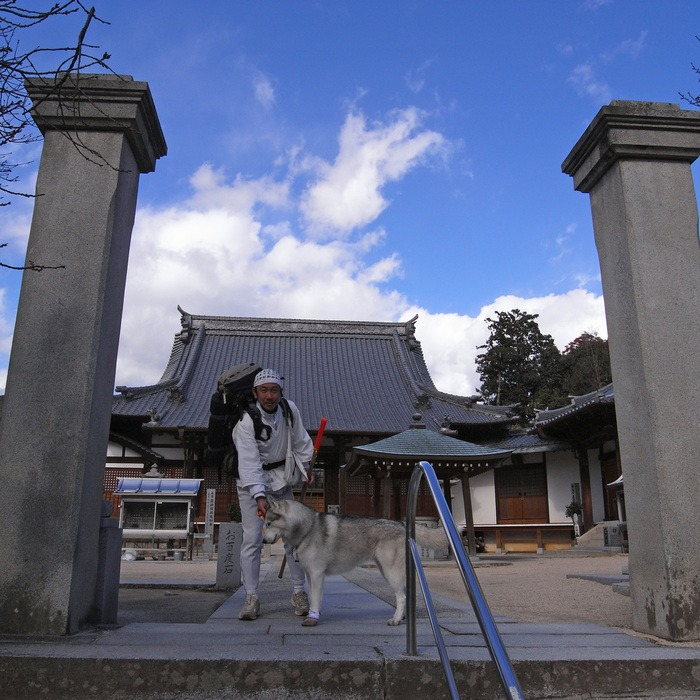 Memory of the second pilgrimage with husky HANA II_c0049299_19304368.jpg