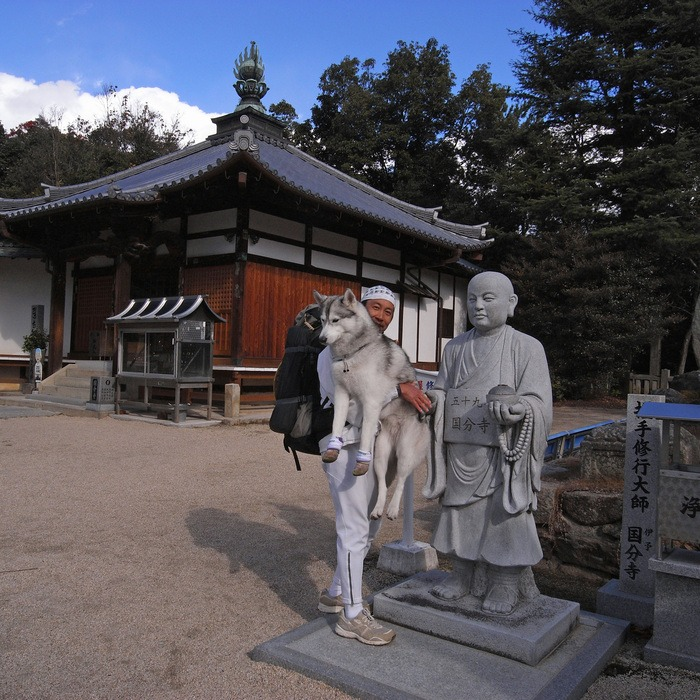 Memory of the second pilgrimage with husky HANA II_c0049299_19305979.jpg