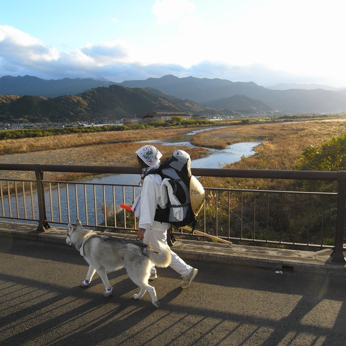 Memory of the second pilgrimage with husky HANA II_c0049299_19402454.jpg