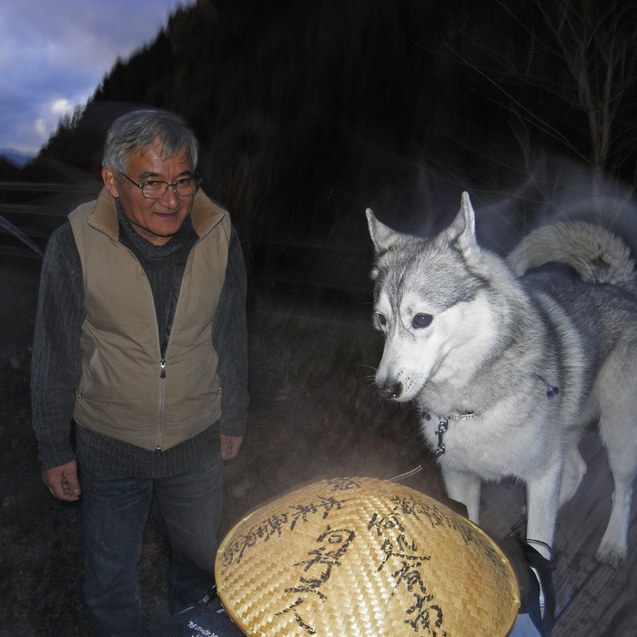 Memory of the second pilgrimage with husky HANA II_c0049299_19425223.jpg