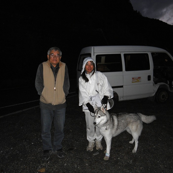 Memory of the second pilgrimage with husky HANA II_c0049299_1943521.jpg
