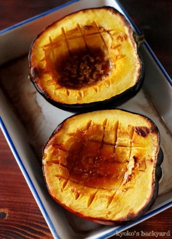 Acorn Squashのオーブン焼き・・・がっかりの巻_b0253205_0511283.jpg