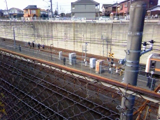 JR東日本の安全訓練_f0291565_1541641.jpg