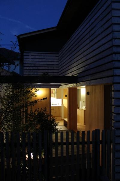 荏田町の家の紹介(4)-夜景_c0310571_17011119.jpg