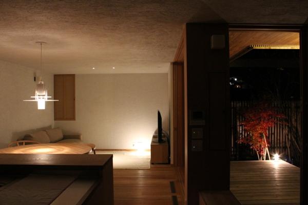 荏田町の家の紹介(4)-夜景_c0310571_17022072.jpg