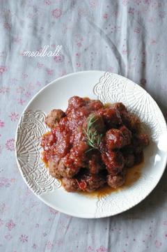 今日のイタリアンな肉だんご_d0327373_17225962.jpg