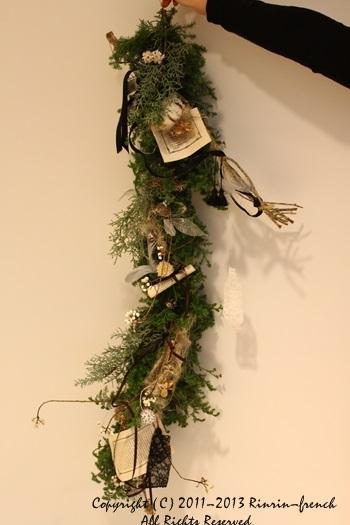 クリスマスガーランド&リース 2013_e0237680_1013286.jpg